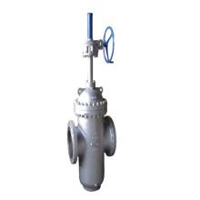 A través de la válvula de compuerta de conducto (GAZ43F)