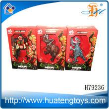 Vente en gros d'assemblage de petits dragons de jouets en plastique pour enfants à Shantou