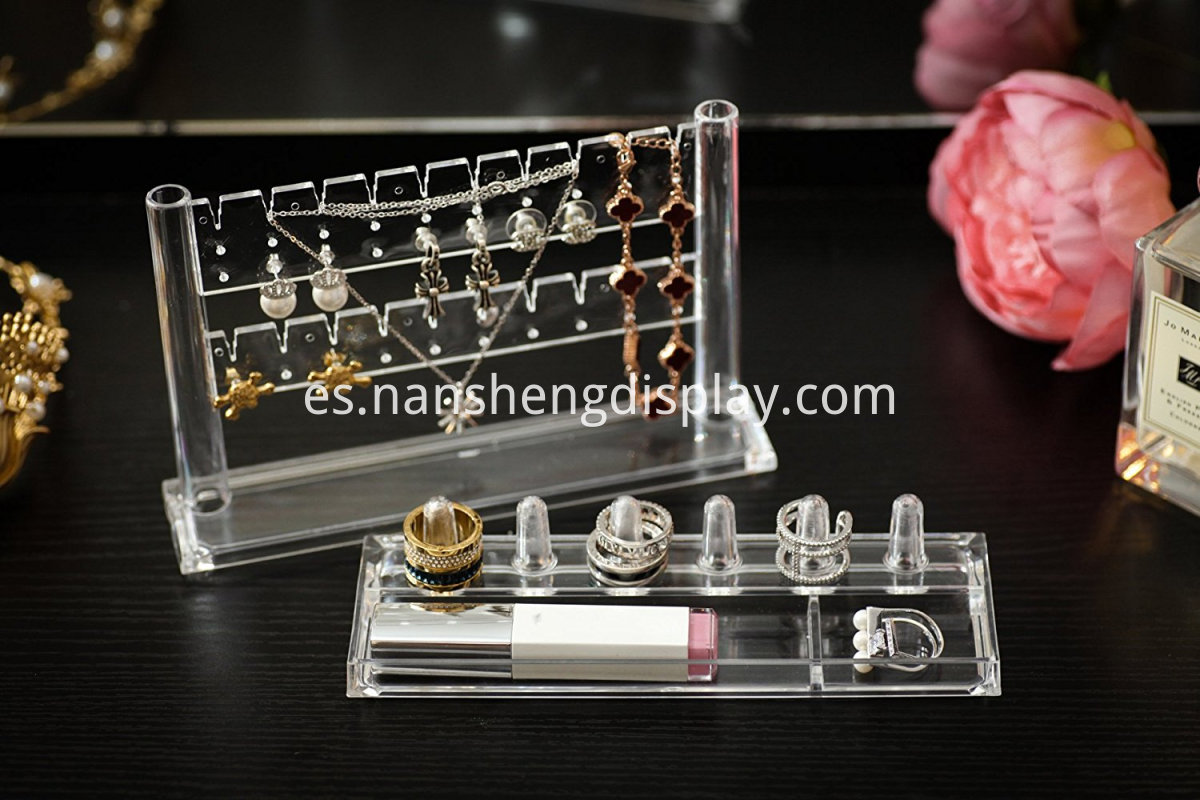 acrylic jewelry stands display