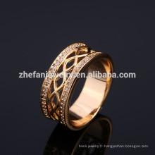 bijoux de bague de doigt de mode pour les invités de mariage cadeau femmes