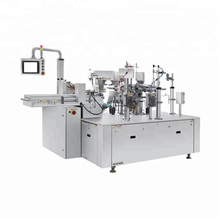 Rotary Double-Bag Pick Fill Seal Machine
