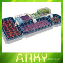 2014 nouvelle combinaison de gymnastique de conception trampoline