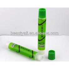 Embalaje de alimentos tubo de caramelo tubos de plástico contenedores