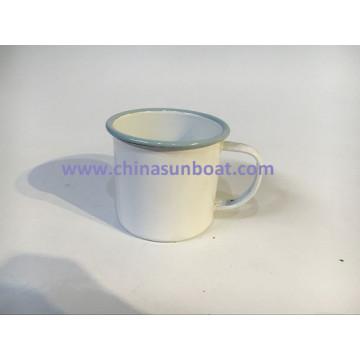 Sunboat Enamel Mug Enamel Cup Tableware Kitchenware/ Kitchen Appliance