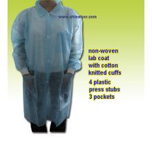 Disposable PP Lab Coat (LY-NLCK-B)