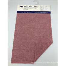 Tissu jersey tricoté Largeur 162cm Tissus polyester T / R