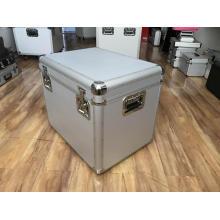 Пустой алюминиевый ящик для хранения с подкладкой из EVA