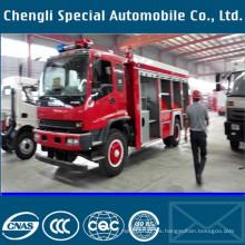 8cbm incendio emergencia de camiones de bomberos Isuzu bosque