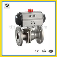 CWX-AC220V Válvula de actuador neumático o válvula de mariposa de actuador eléctrico con conexión de brida