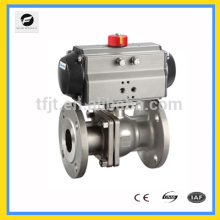 CWX-AC220V Pneumatic actuator valve or Electric actuator ball butterfly valve with flange connection
