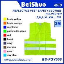 Reflektierende Weste Sicherheitsbekleidung 100% Polyester