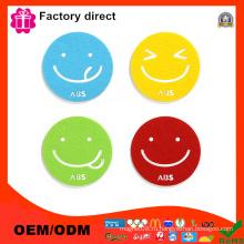 Весенние распродажи Coasters Набор из 6 Smile Face Cute Design Home Furnishings Высокое качество