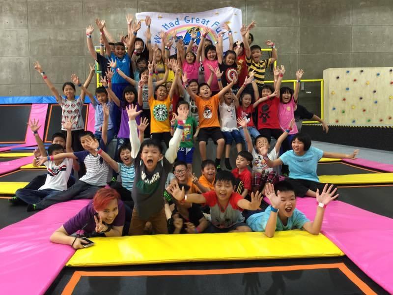kids trampoline park
