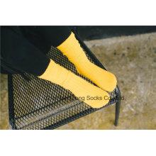 Конфеты цвета Kid хлопок носки Прекрасные девушки Полосатый чулок
