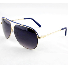 Fashionable Elegant Metal High Quality Sunglasses for Woman (14264)