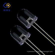 Vente chaude Fabrication 10mm rond led IR 940nm eau claire