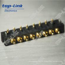 8pin Federbelastete Pogo Pins Anschlüsse (Hochleistungs, chinesischer Hersteller)