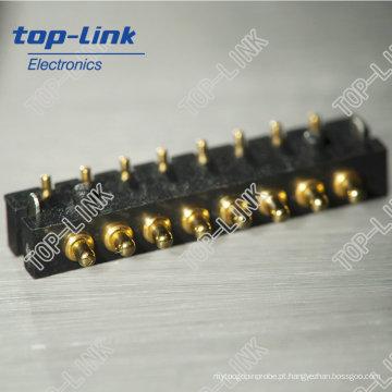 8pin Primavera Carregado Pogo Pins Connectors (alto desempenho, fabricante chinês)