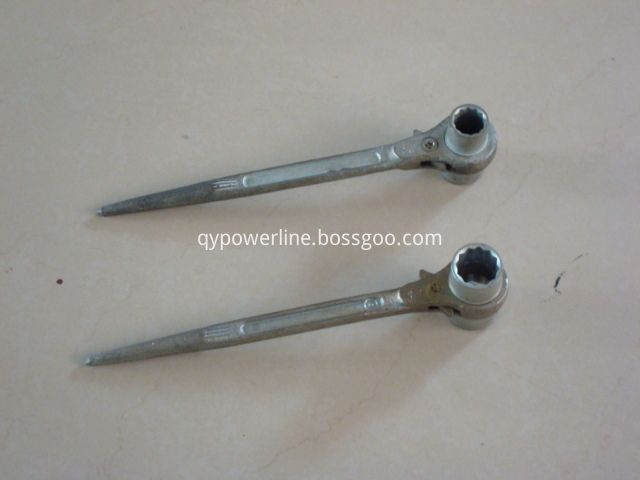 Pointed tail Ratchet Wrench