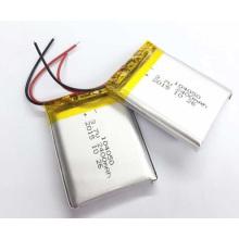 Bateria de polímero de lítio de 3.7V / 2300mAh 104050 para instrumento médico