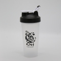 600ml Fitness Protein Shaker Bottle with Lever Loop