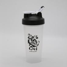China Supplier for China Gym Shaker,Food Grade Shaker Bottle,Sports Shaker,Mixball Shaker Manufacturer 600ml Fitness Protein Shaker Bottle with Lever Loop supply to Burundi Wholesale