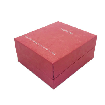 Luxury Book Shape Paper Jewelry Box