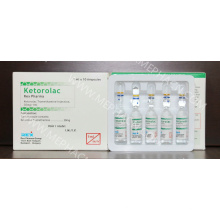 Analgésico Ketorolac Tromethamine Injection
