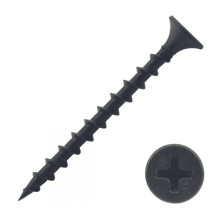 double threaded 1022a material drywall screw black
