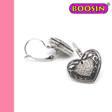 2016 Fashion Jewelry Top Sale Vintage Heart Clip Earrings #21764