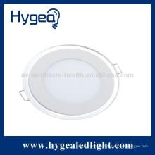 10W Lampe de panneau LED haute qualité pour intérieur avec bleu et blanc