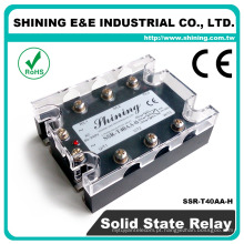SSR-T40AA-H Igual a Fotek AC para AC 40A SSR Relé de estado sólido