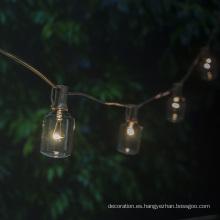 Jardín Decoración Iluminación Exterior Edison String Light