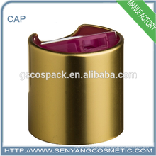De gama alta de lujo calificado pet botella tapas metal tapas de botella