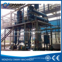 Stainless Steel Titanium Vacuum Film Evaporation Crystallizer Waste Water Salt Water Evaporator Evaporation