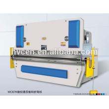Machine à plier à condensateur WC67K-500T / 6000