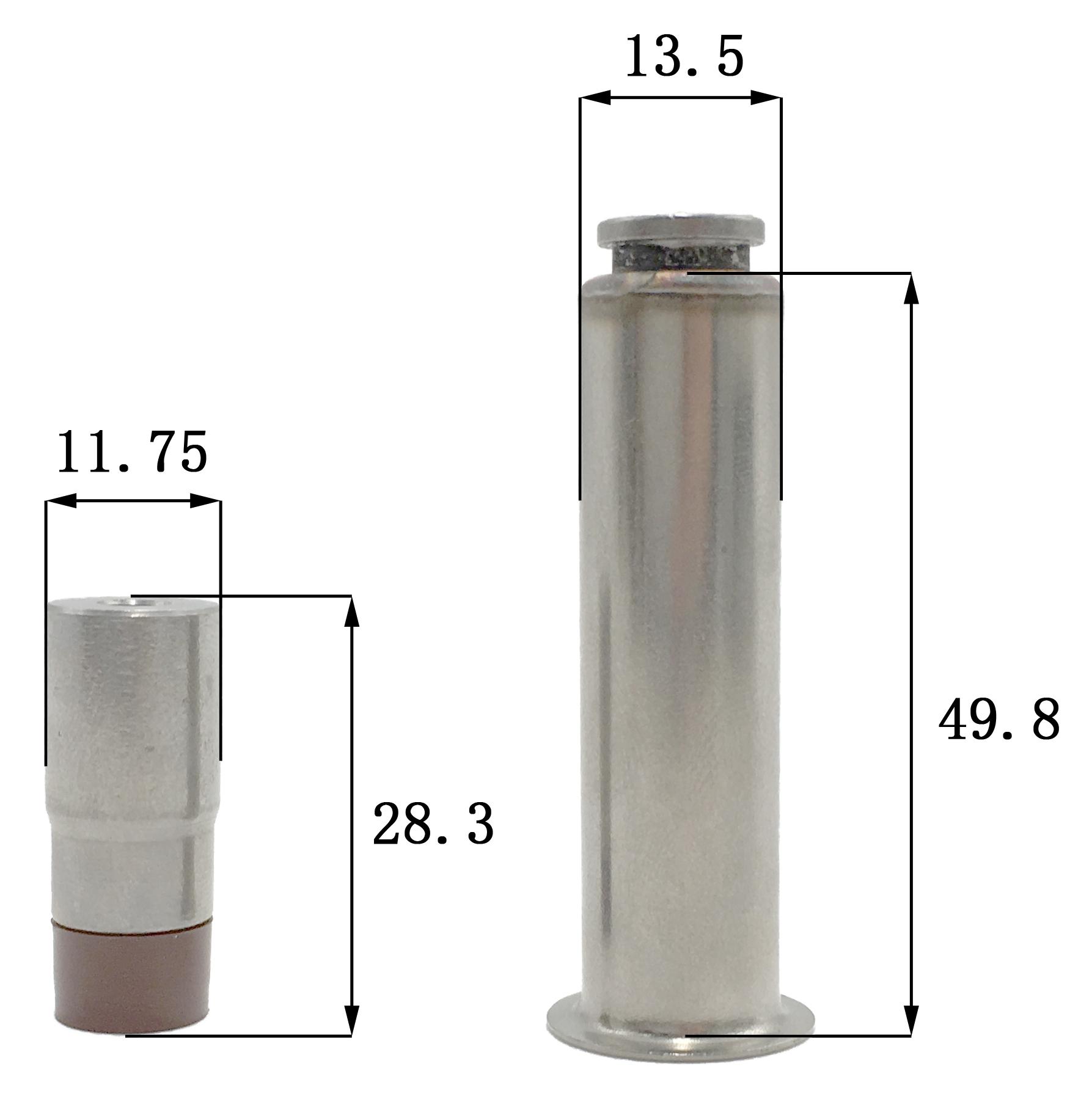 Dimension of BAPC213050375 Armature Assembly: