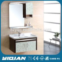 304 ou 201 armoire en acier inoxydable de conception simple Cabinet d'évier en acier inoxydable à montage mural neuf
