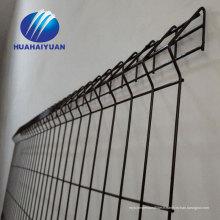 clôture soudée galvanisée de maille curvy avec la clôture de clôtures Barrière soudée de grillage