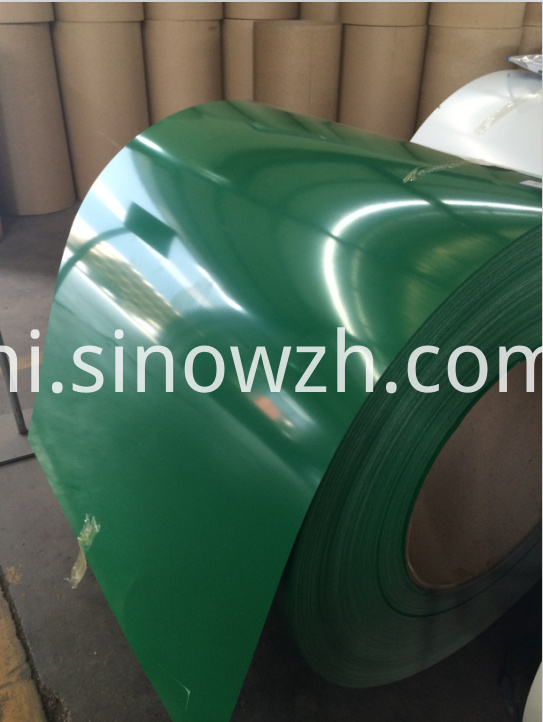 ral 6029 green color steel coil