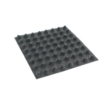 Good water diversion and drainage performance Manufacture sells plastic HDPE waterproof dimple drainage board