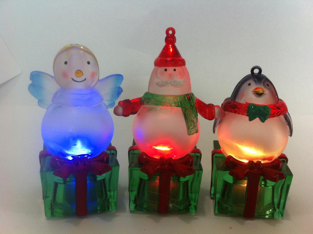 LED Christmas Lighting Gift Box Series Spray Ball Body