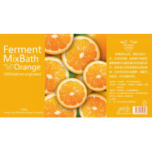 Shampooing au parfum d'orange
