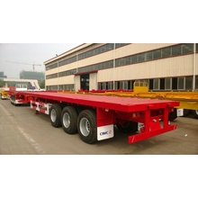 Professional Design for CIMC Flatbed Trailer CIMC 40' 3-Axle Flatbed Semi-Trailer supply to Turkey Factory