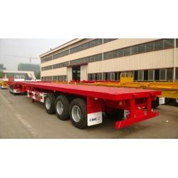 CIMC 40' 3-Axle Flatbed Semi-Trailer