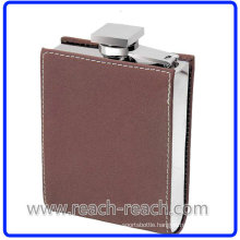 7oz New Design Stainless Steel Hip Flask with Cover (R-HF012)