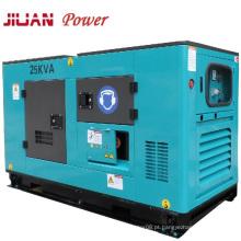 Gerador diesel do poder silencioso da venda Isuzu 25kVA quente