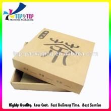 Precio de Fábrica Papel Kraft Hecho Tapa y Base de embalaje Caja de regalo