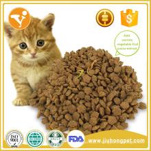 Flavour des poissons fiable et organique des aliments pour chats secs fabriqués en Chine