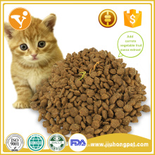 Cheap and high quality hot sale natural dry cat food OEM supplier